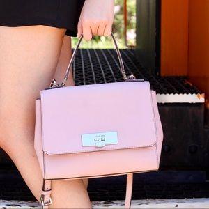 Michael Kors pastel pink crossbody satchel